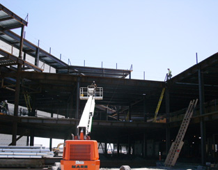 Structural steel projects